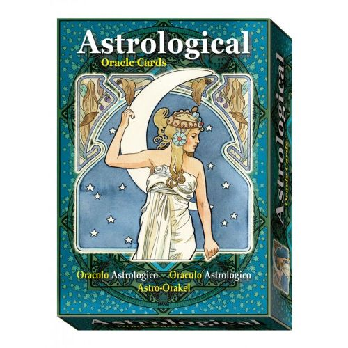 Art Nouveau Astrological Oracle Cards